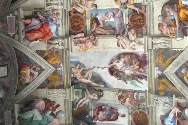One of Michelangelo's greatest masterpieces. © Walter McBride/Corbis