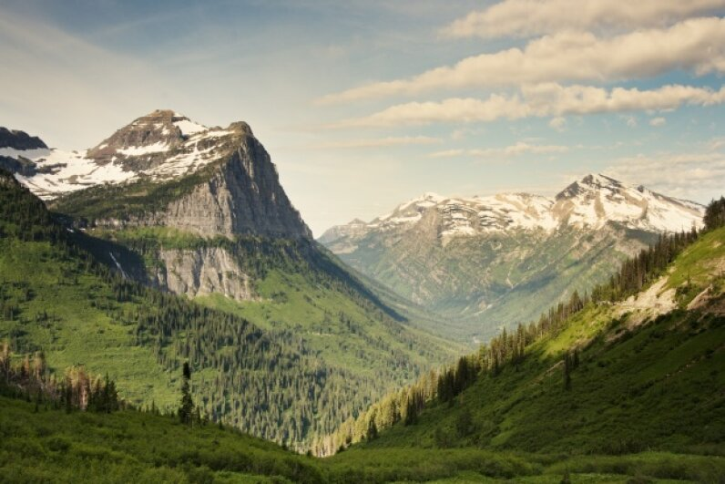 Glacier National Park is one of America's true treasures. iStockphoto/Thinkstock