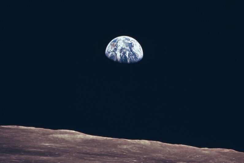 The Earthrise is something that leaves astronauts breathless. Courtesy of NASA