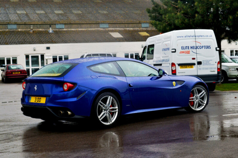 The Ferrari FF (Creative Commons/Flickr/Fast Car Zone)