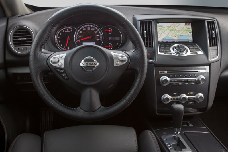 The 2014 Nissan Maxima (Courtesy of Nissan North America)