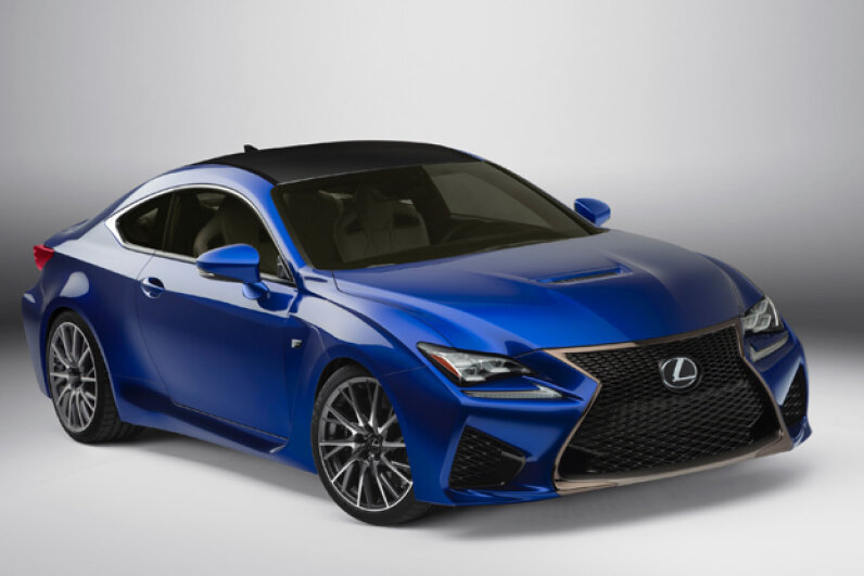 The 2015 Lexus RC F (Courtesy of Toyota Motor Sales, U.S.A., Inc.)