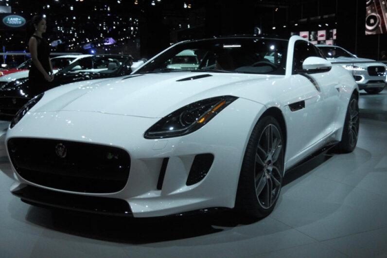 The 2014 Jaguar F-Type Coupe (Courtesy of Kristen Hall-Geisler)