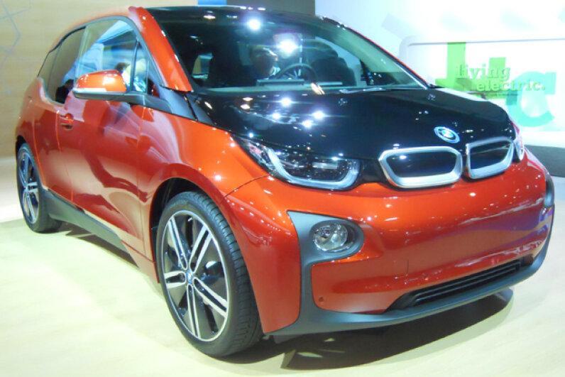 The 2014 BMW i3 (Courtesy of Kristen Hall-Geisler)