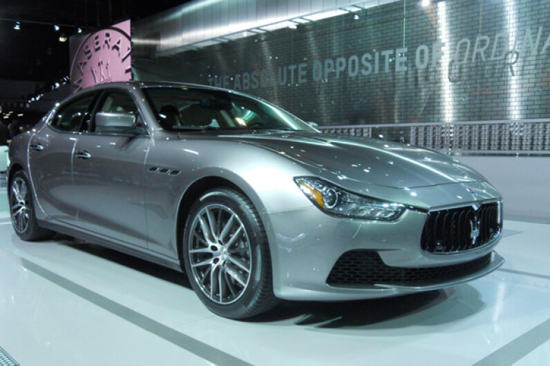 The 2014 Maserati Ghibli (Courtesy of Kristen Hall-Geisler)
