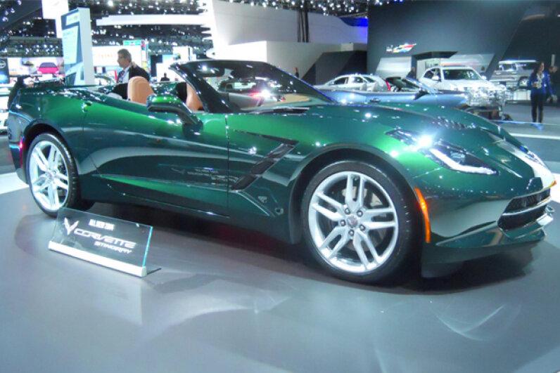 The 2014 Corvette Stingray (Courtesy of Kristen Hall-Geisler)