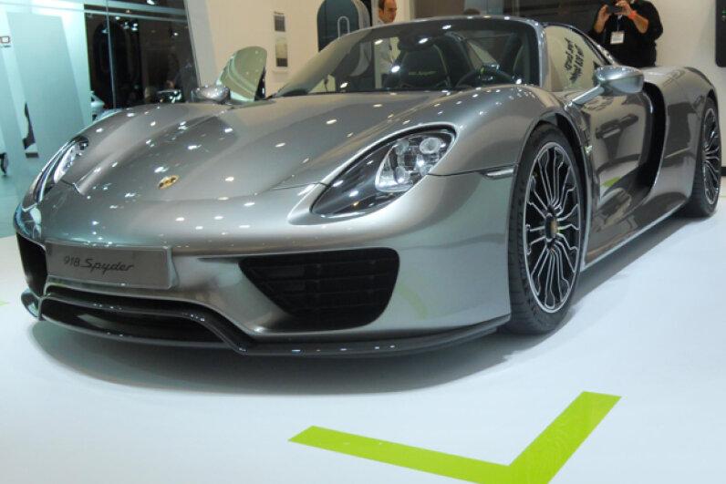 The 2014 (?) Porsche 918 Spyder (Courtesy of Kristen Hall-Geisler)