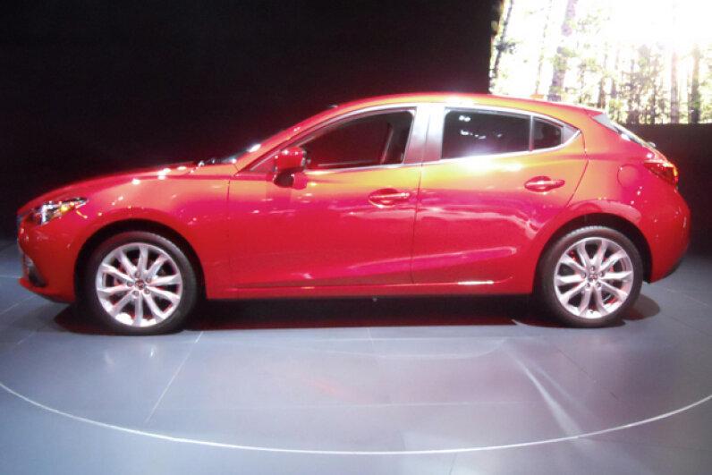 The 2014 Mazda3 (Courtesy of Kristen Hall-Geisler)
