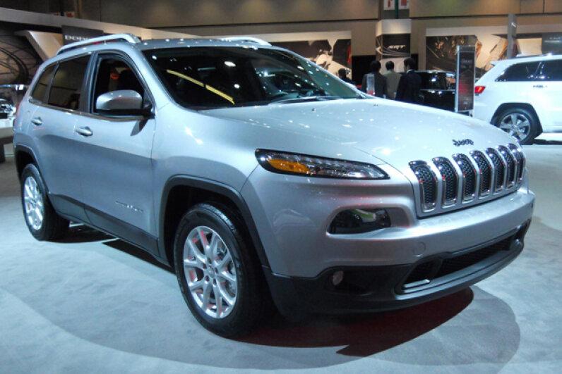 The 2014 Jeep Cherokee (Courtesy of Kristen Hall-Geisler)