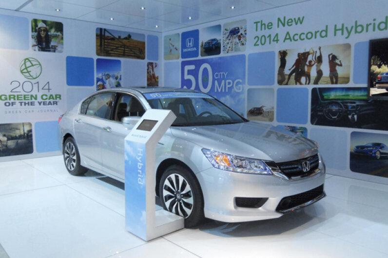 The 2014 Honda Accord Hybrid (and plug-in hybrid) (Courtesy of Kristen Hall-Geisler)