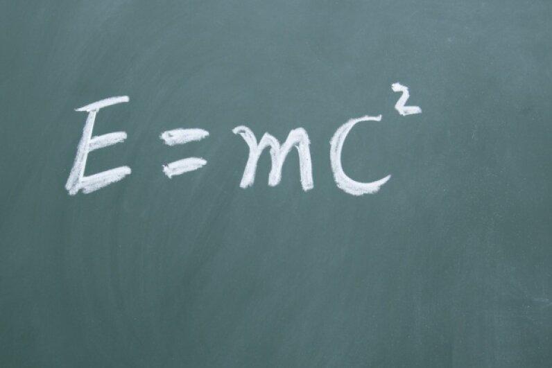 Yep, 1905 was the year that E = mc2 burst onto the scene, too. flytosky11/iStock/Thinkstock