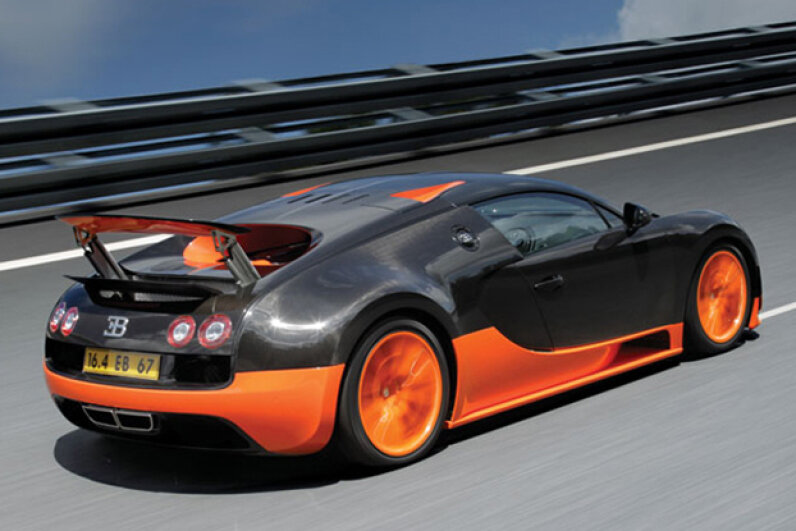 The Bugatti Veyron Super Sport (Creative Commons/Flickr/cmonville)