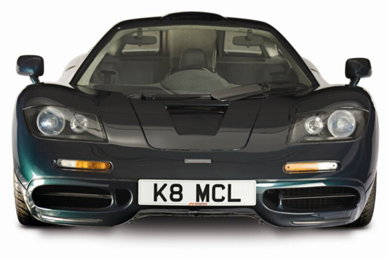 The McLaren F1 (Courtesy of McLaren Automotive Limited)