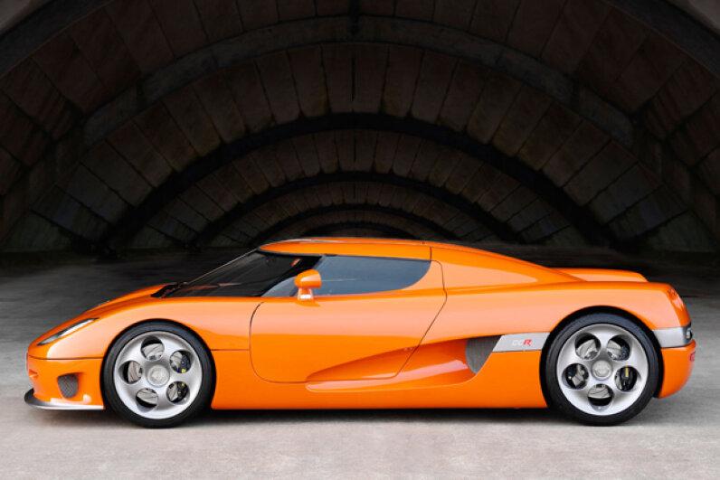 The Koenigsegg CCR (Courtesy of Koenigsegg Automotive)