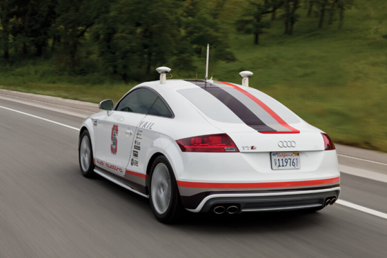 The Pikes Peak Autonomous Audi TTS Image courtesy of Audi of America
