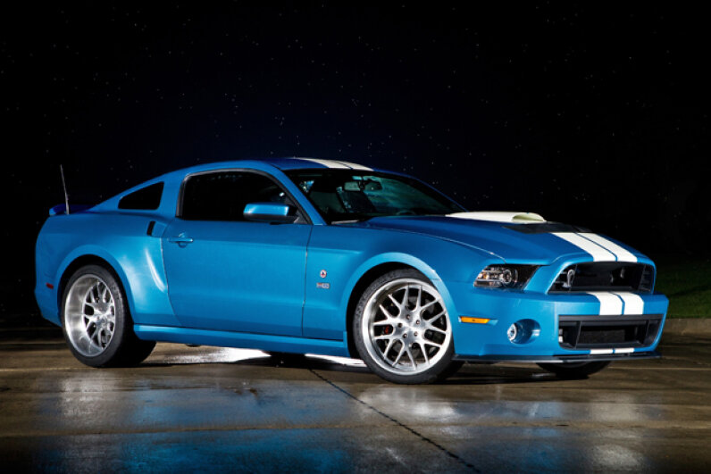 Check out this 2013 Shelby GT500 Cobra!  © Ford Motor Company