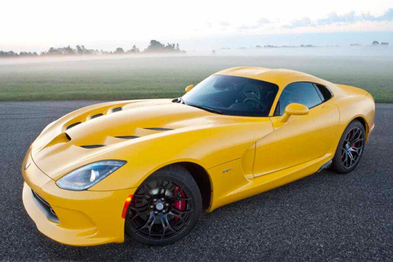 2013 SRT Viper Courtesy of Chrysler Group LLC