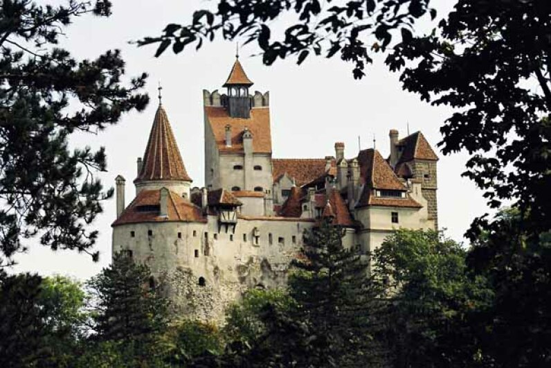 Bran Castle was the principal home of Queen Marie whose grandson Dominic Habsburg had the castle returned in 2006 by the Romanian government after the fall of Communism. In 2007 he put it up for sale.  So far, no takers. Wojtek Laski/Getty Images