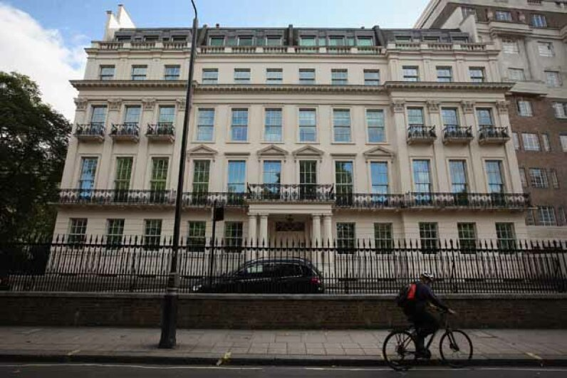 A general view of 2-8a Rutland Gate, the most expensive house to go on the market in London. Dan Kitwood/Getty Images