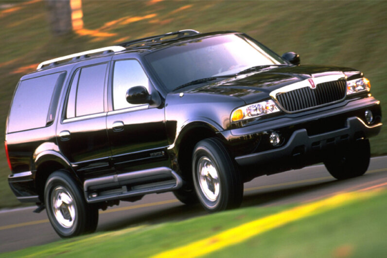 For cruise control problems, the Lincoln Navigator was the most recalled of all of the Ford vehicles -- but millions of other vehicles were affected, too. Ford Motors/Newsmakers/Getty Images