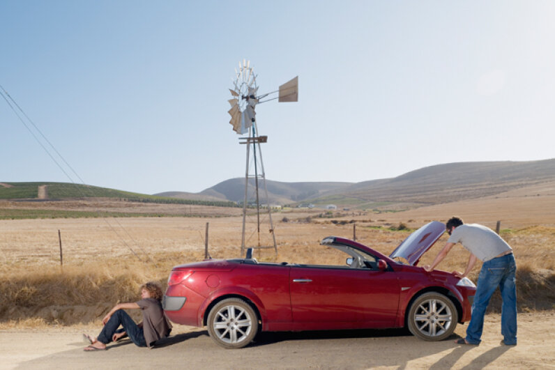 How does your car communicate with you? C. Lyttle/Corbis