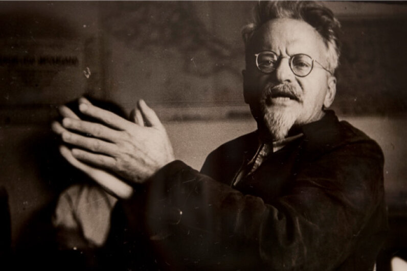 A portrait of Trotsky hanging in the Mexico City museum bearing his name. © Susana Gonzalez/dpa/Corbis
