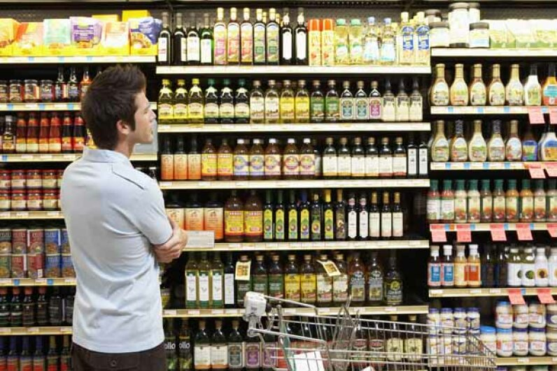 That voice you hear in the store urging you to buy something you hadn't planned on may not be inside your head. Noel Hendrickson/Digital Vision/ Thinkstock