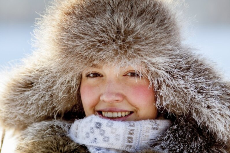 Once humans started pulling on clothing, they were free to move to colder climates. iStock/Thinkstock