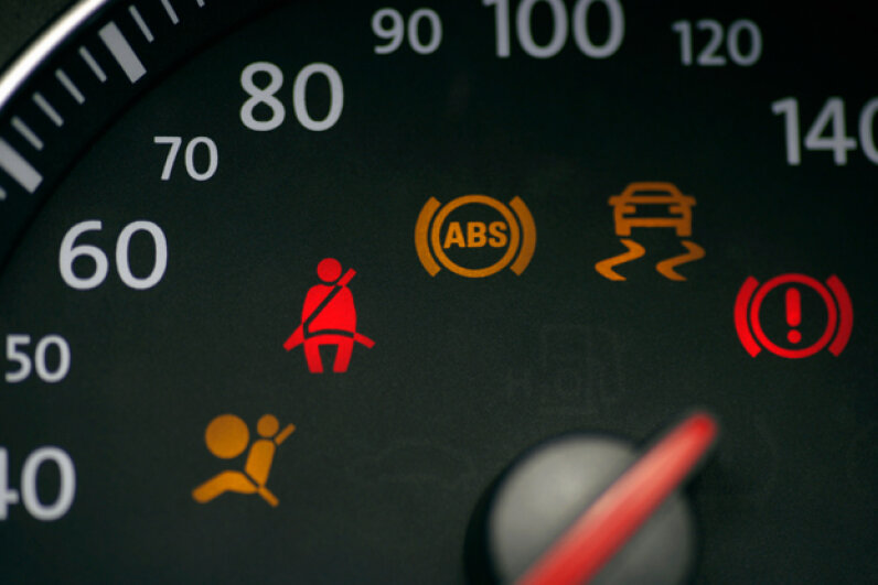 It's pretty easy to get desensitized to those dashboard warning lights. (Martin Hospach/Getty Images)