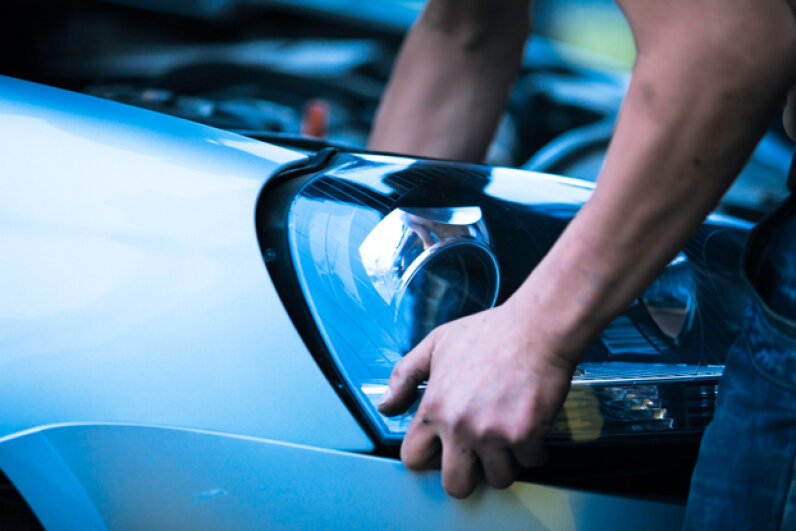 It's relatively simple to replace your car's headlights. (4X-image/Getty Images)