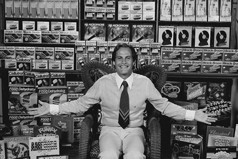 Ron Popeil invented and sells dozens of wild, wacky and silly inventions. © Tony Korody/Sygma/Corbis