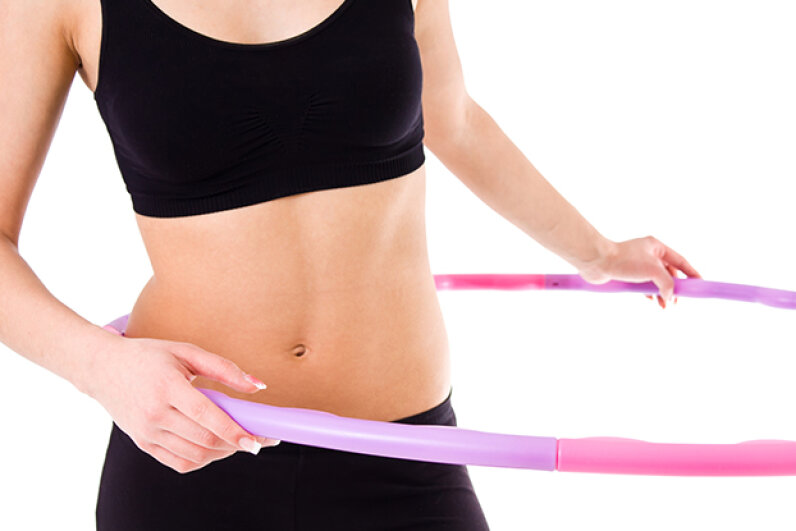 No, it's not really a hula hoop … it just acts like one. iStock/Thinkstock