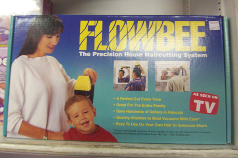 The Flowbee promises a perfect cut, every time. Image courtesy kowitz, used under Creative Commons Attribution 2.0 Generic License