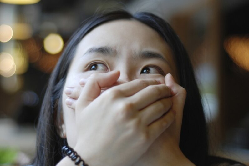 A panic attack can present a lot like a heart attack. YuanTing/iStock/Thinkstock