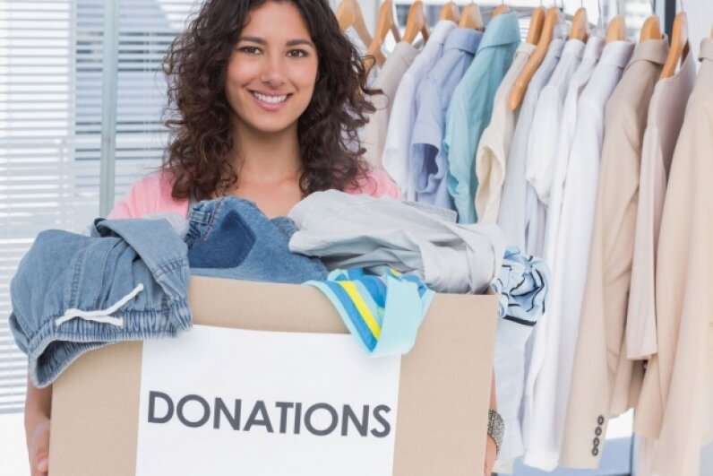 When you donate to a charity, make sure you get a receipt if you want to deduct that generosity at tax time. ©iStock/Thinkstock