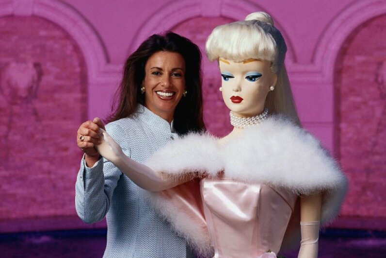 Jill Barad resigned her position as CEO of Mattel Inc. after the acquisition of The Learning Company resulted in huge losses. © Alan Levenson/CORBIS