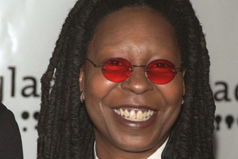 Whoopi Goldberg was paid for her part in a Flooz ad campaign with a stake in the company. © Frank Trapper/Sygma/Corbis