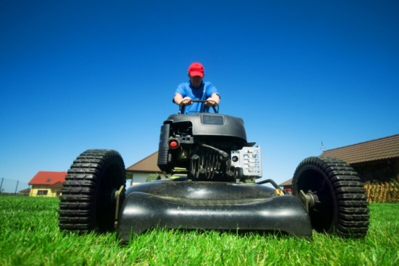 It seems like a hassle to take your lawn mower for a checkup, but your lawn could reap the benefits of that simple step. Micha? Bednareck/Hemera/Thinkstock
