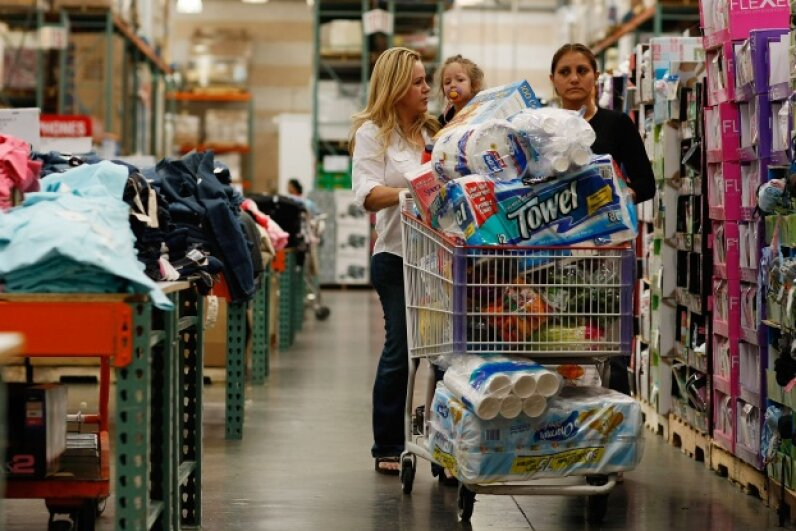 If you're smart about it, buying in bulk can save you a ton of cash. Getty Images News / Thinkstock