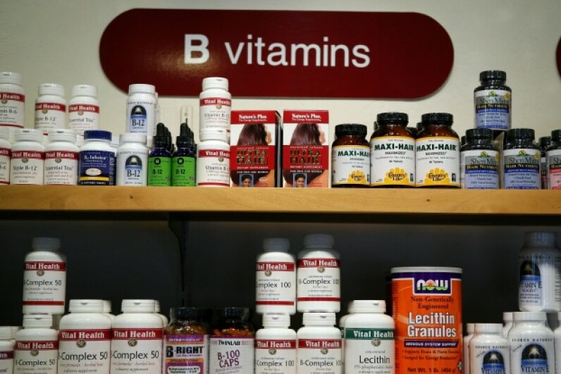 If you purchase vitamins in bulk, be sure you'll be able to use them before the expiration date. Getty Images News/Thinkstock