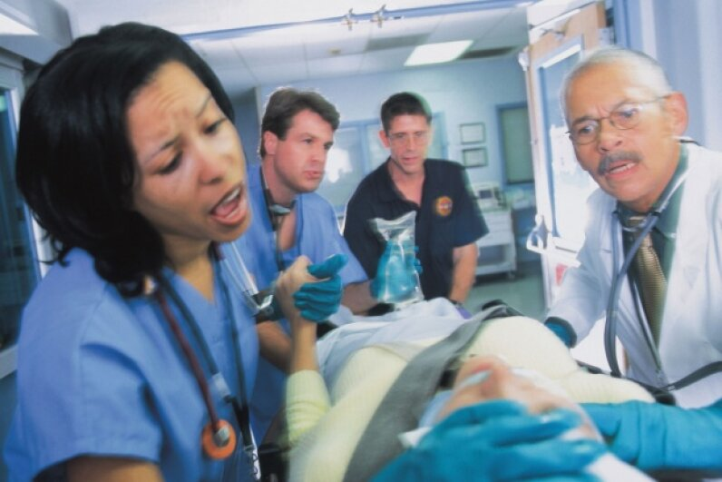 Emergency rooms are typically busiest during the hours most people aren't at work or school.  © Comstock/Thinkstock