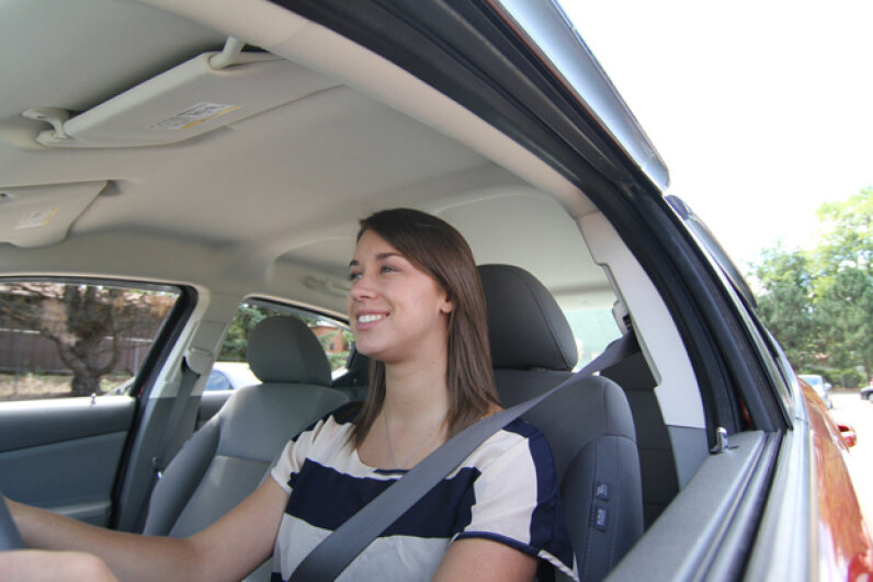 New drivers have to be even more careful and pay even closer attention to what's happening around them when they're driving solo. (Creative Commons/Flickr/State Farm)