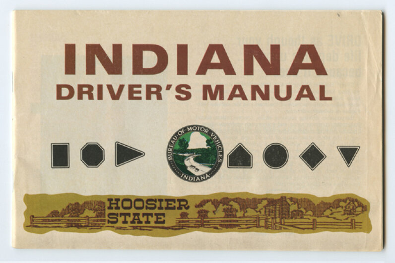 The Indiana Driver's Manual (1980). (Creative Commons/Flickr/Eric Fischer)