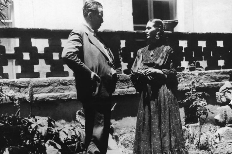 Kahlo and Rivera both had affairs. FPG/Archive Photos/Getty Images