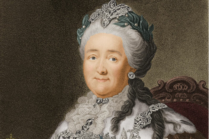 Catherine the Great was never the same after Potemkin died. Archive Photos/Getty Images