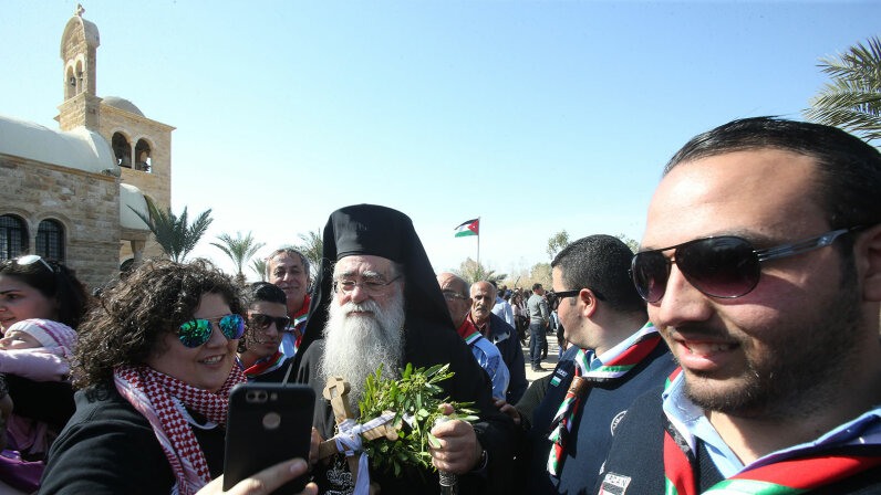 Ephiany celebration, river jordan