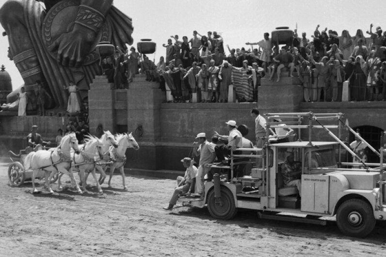 "Lives, money and time were lost on the Italian set of ""Ben-Hur."" John Kobal Foundation/Moviepix/Getty Images"