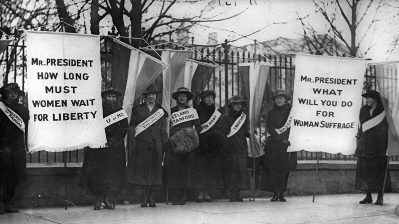 Women suffragists