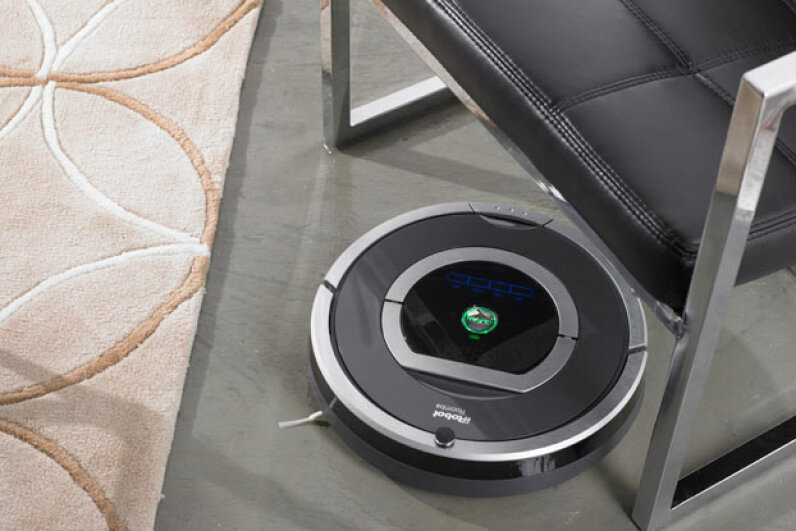The Roomba 790, introduced in 2012, is an update to this 780 model. Photo courtesy of iRobot