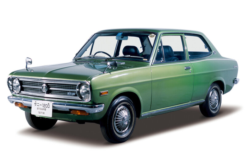 You probably really enjoy driving your 1971 Datsun Sunny GL -- but wouldn't it be even more fun if it was just a little bit faster? (Courtesy of Nissan North America)